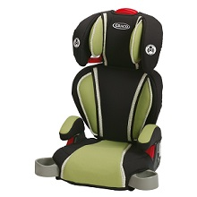 Graco High Back TurboBooster Car Seat, Go Green