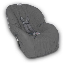 Nomie baby Toddler Car Seat Cover, Charcoal Color